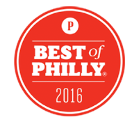 Badge for the 2016 Best of Philly Award